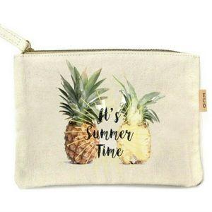 Handbags - It's Summer Time Canvas Zippered Bag